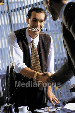 Cooperation and Success Stock Photo