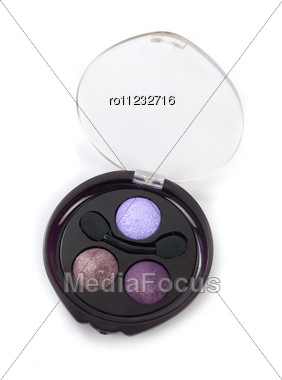 Cosmetic Paints Isolated Stock Photo