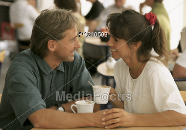 Couple Dating Stock Photo