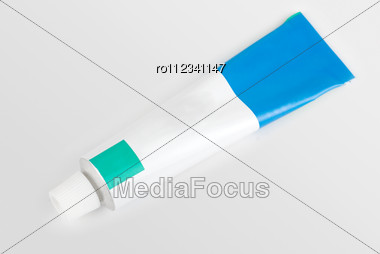 Cream Tube Isolated Stock Photo