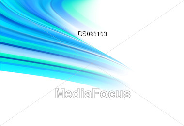 Creative abstract blue green flare of color Stock Photo