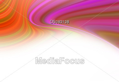 Creative flare of abstract colors on black background Stock Photo