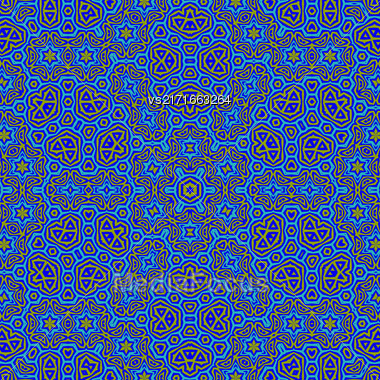 Creative Ornamental Colorful Pattern. Geometric Decorative Background Stock Photo