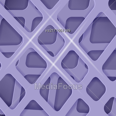 Crossed Lines Abstract Blue Cover Background. Blue Pattern Stock Photo