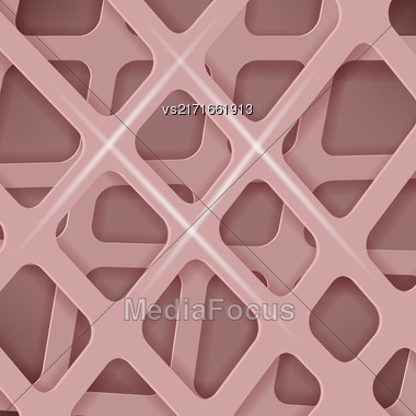 Crossed Lines Abstract Pink Cover Background. Pink Pattern Stock Photo