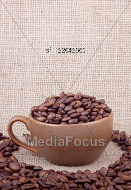 Cup Of Coffee. Shot In A Studio Stock Photo