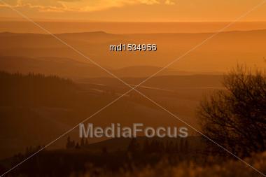 Cypress Hills Alberta Saskatchewan In The Hills Alberta Stock Photo