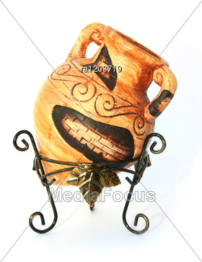 Cyprus Vase Stock Photo