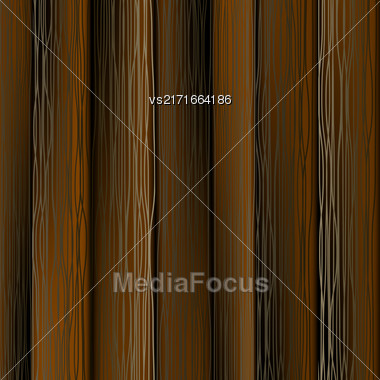 Dark Wood Vertical Planks. Wooden Texture Pattern Stock Photo