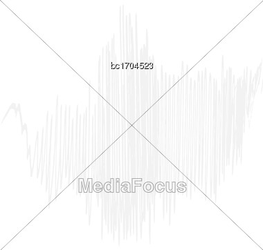 Delicate White Background, Vector Format Stock Photo