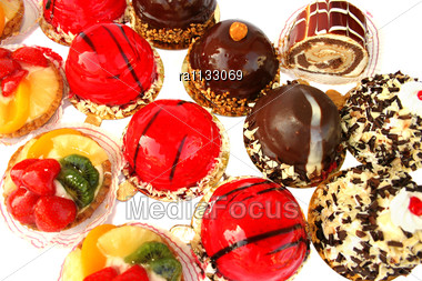 Different Cakes Stock Photo