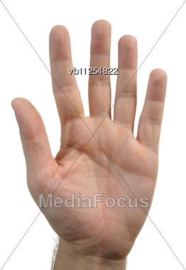 Different Gestures That Can Be Shown With The Fingers Stock Photo