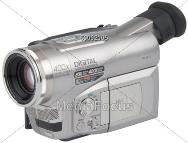 Digital Video Camera Stock Photo
