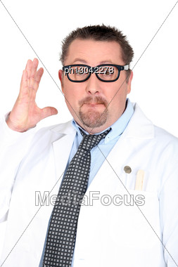 Doctor With Glasses Stock Photo