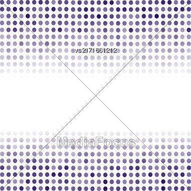 Dotted Blue Background. Halftone Pattern. Comic Book Background Stock Photo