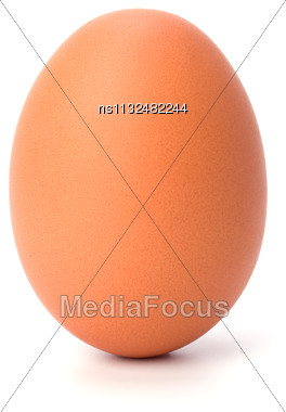 Egg Isolated On White Stock Photo