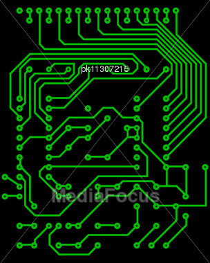 Stock Photo Electric Scheme For Design Use - Image PK11307215 ...