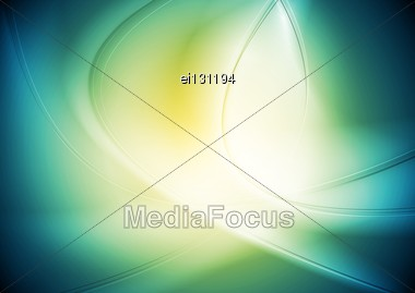 Elegant Waves Background. Stock Photo