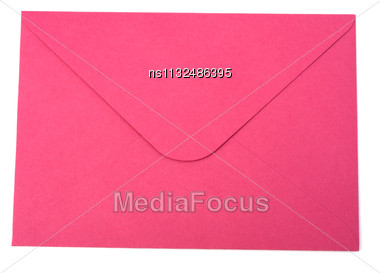 Envelope Isolated On The White Background Stock Photo