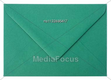 Envelope Isolated On White Background Stock Photo