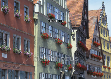 European Buildings Stock Photo