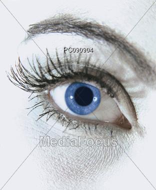 Eye Close-up Stock Photo