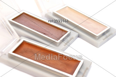 Eye Shadows Stock Photo