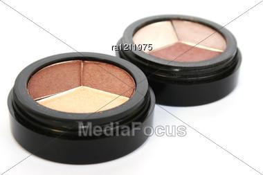 Eye Shadows Stock Photo