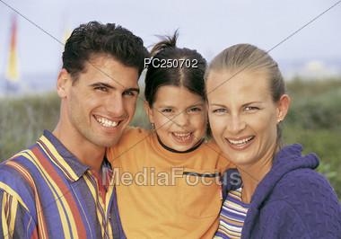 Family Close-Up Stock Photo