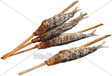 Stock photo fish on a stick clipart image 54042005 for Fish on a stick