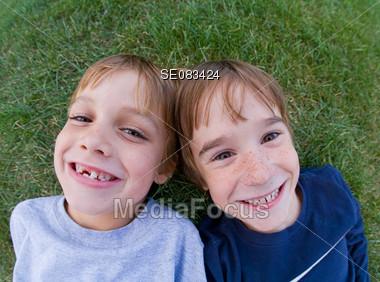 Fisheye Smile Stock Photo
