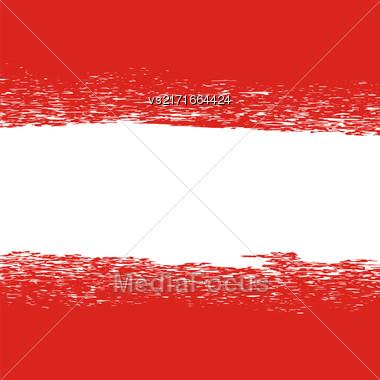 Flag Of Austria. Flag Pattern. Grunge Austrian Flag Stock Photo