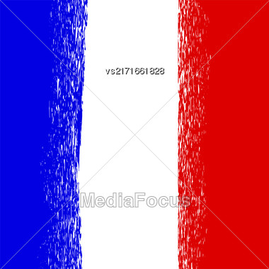 Flag Of France. French National Colors Background Stock Photo