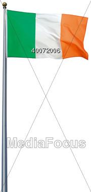 Flag Ireland Stock Photo