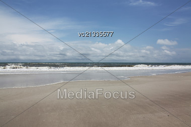 Florida beach Stock Photo