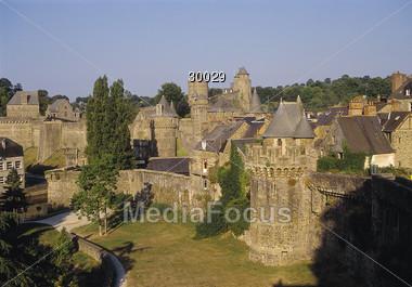 Fougeres, Bretagne Stock Photo