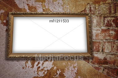 Frame With Emty Blank Stock Photo
