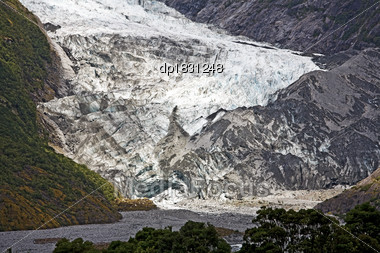 Franz Josef Glacier, New Zealand Stock Photo