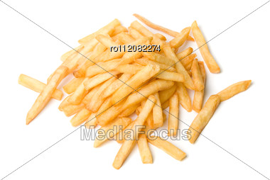 French Fried Potatoes Stock Photo