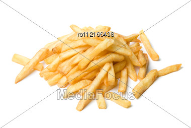 French Fried Potatoes Stock Photo