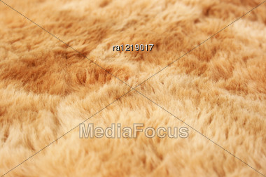 Fur Textile As A Background. Stock Photo