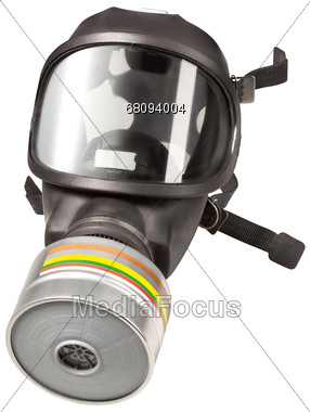 Gas Mask Stock Photo