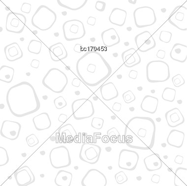 Geometric White Background, Vector Format Stock Photo