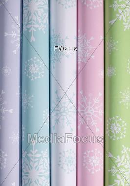 Gift Wrap Background Stock Photo