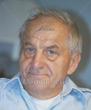 Grandfather Type Senior Stock Photo