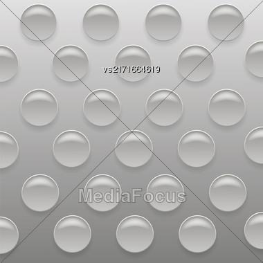 Gray Bubblewrap Background. Gray Plastic Packing Tape Stock Photo