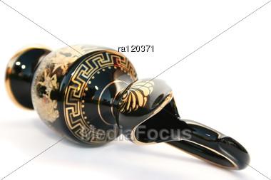Greek Vase Stock Photo
