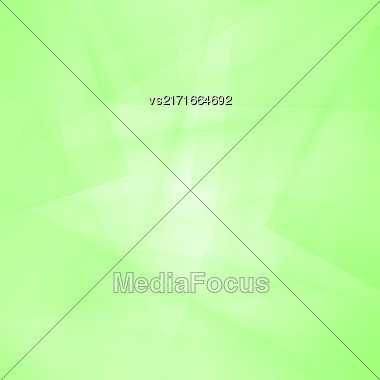 Green Line Background. Abstract Green Line Pattern Stock Photo
