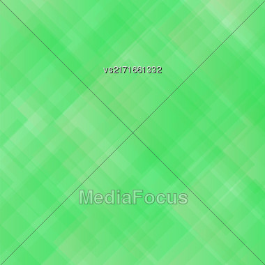 Green Square Background. Abstract Green Square Pattern Stock Photo