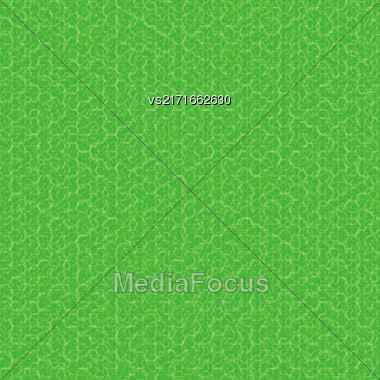 Green Texture Fabric Backgroud. Green Ornamental Pattern Stock Photo